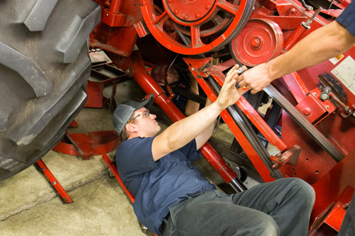 Agricultural Equipment student at UNOH