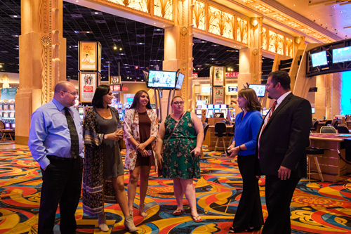 Students Tour Hollywood Casino in Toledo